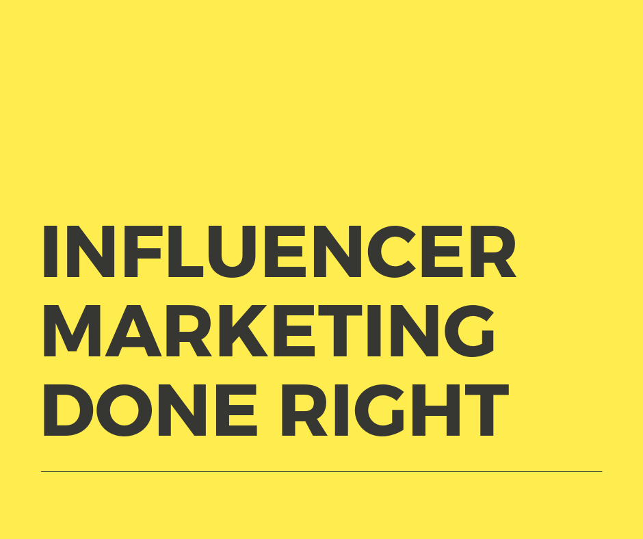 influencer marketing best practices