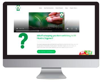 Sampling Campaign microsite